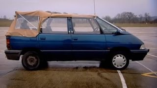 Download Renault Espace Convertible Challenge - Top Gear - BBC Mp3 and Videos
