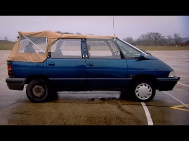 Renault Espace Convertible Challenge - Top Gear - BBC