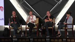 #HITBCyberWeek QUANTUM HIGHLIGHT Panel Discussion - M. Manzano, Y. Allain, N. Aaraj and J. Ignacio