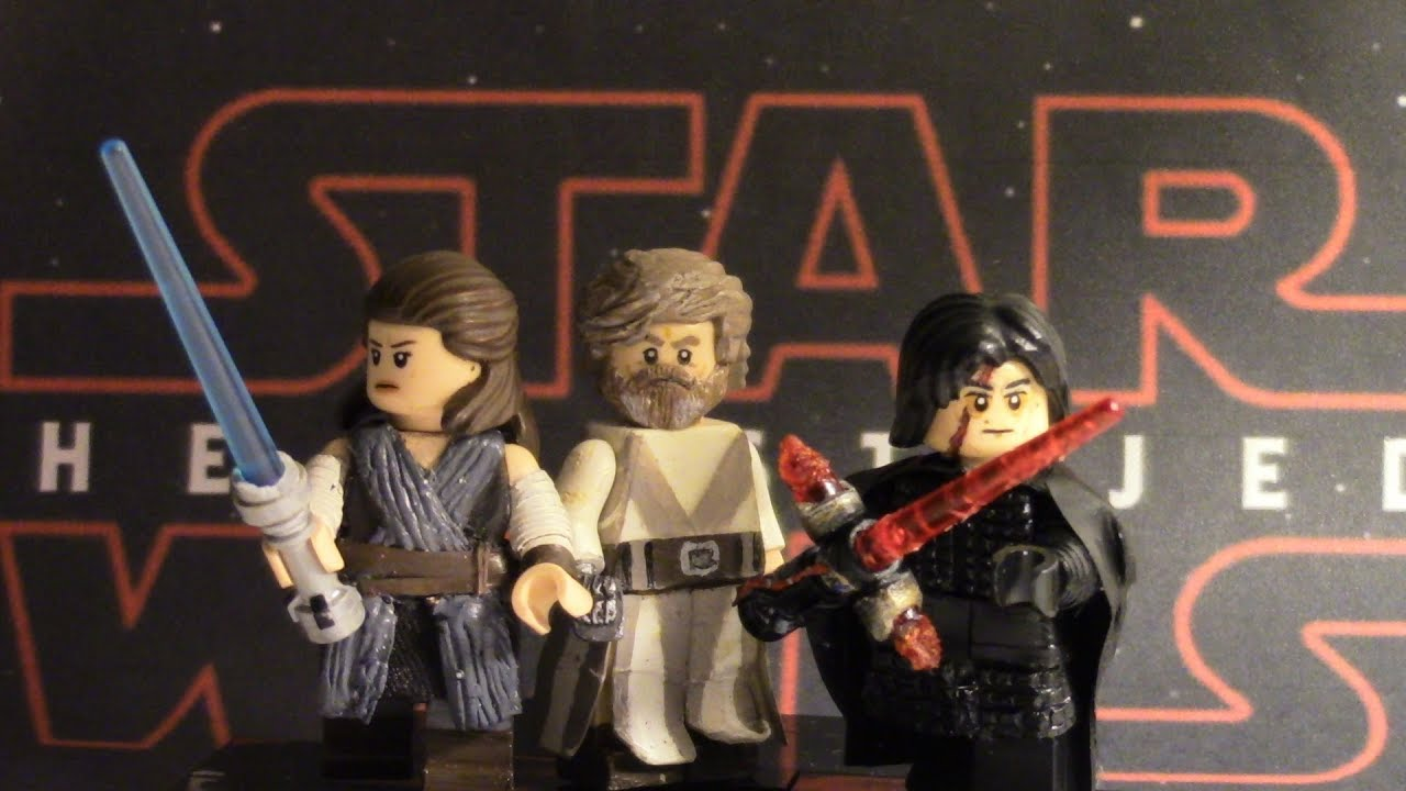 Custom Lego Star Wars The Last Jedi Minifigure Showcase Youtube