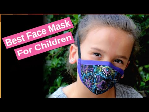 Best Face Mask for Children and Teens | Kid Friendly Style!