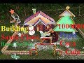 Building Santa Claus House for Dogs With 1000000 Pepsi Cans, Coca Cola Cans, Bamboo, Plastic Recycle