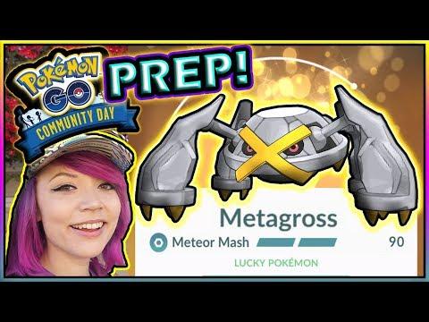 METEOR MASH! BELDUM COMMUNITY DAY PREP POKÉMON GO!