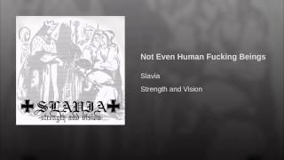 Not Even Human Fucking Beings