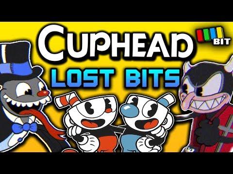 Cuphead LOST BITS | Unused Content & Debug Mode [TetraBitGaming]