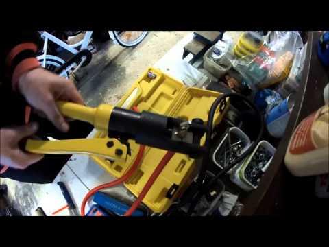 46€ Hydrafore Y-120A 12 Ton Hydraulic Crimping Tool 10-120mm2