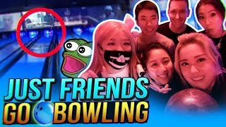 JUST FRIENDS GO BOWLING