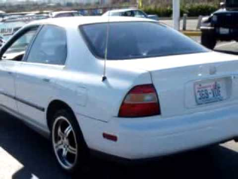2010 Honda Accord Lx >> SOLD - 1994 Honda ACCORD LX Budget Auto Sales III - YouTube