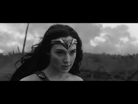 Wonder Woman 'No Man's Land Scene' - Silent Film Mode
