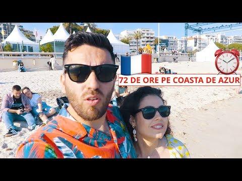 72 de ore pe Coasta de Azur! (Nisa, Monaco, Cannes)