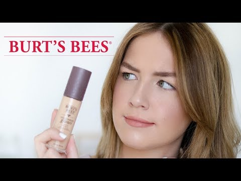 Trying Burt's Bees Makeup: First Impressions