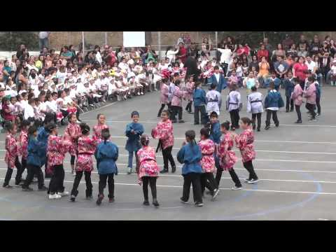 "Malabar Street Elementary School ""Centennial Celebration"" 1913-2013  - Tango Bushi (Japanese Dance)"