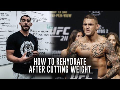 How to Rehydrate After a Weight Cut in MMA \u0026 Combat Sports | Phil Daru