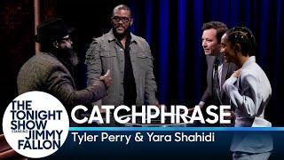Catchphrase withTyler Perry and Yara Shahidi