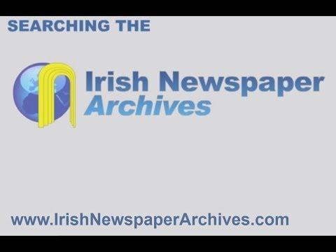Searching Irish News Archive