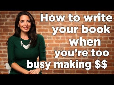 How To Write A Book With No Writing Time