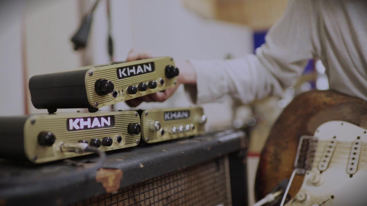 Khan Audio Introduces the Khan Pak   Premier Guitar