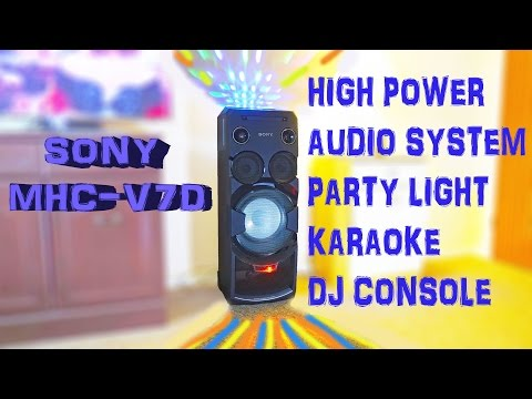 Sony MHC-V7D High Power Audio System - Test