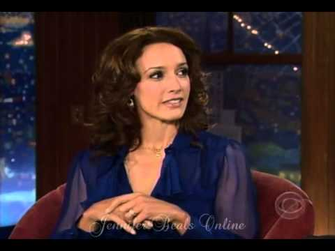 Jennifer Beals - Interview: The Late Late Show w/ Craig Ferguson (February 25, 2008)