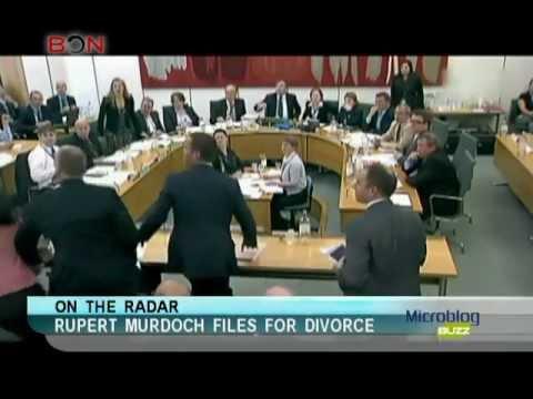 Rupert Murdoch files for divorce-Microblog Buzz-June 18,2013 - BONTV China