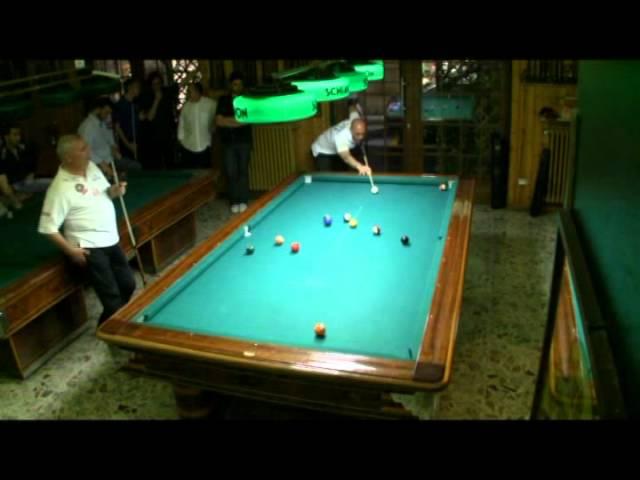 Campionato Triveneto Biliardo 2011 Pool 8-15 Finale Master Bazzana-Zambonin prima partita