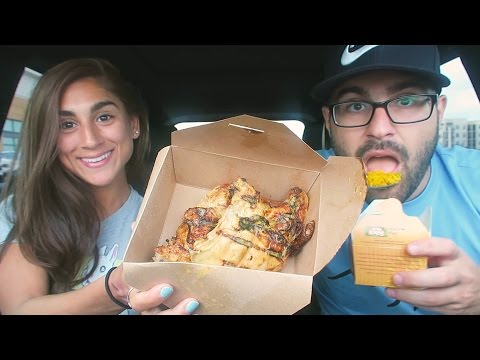 EATING NANDO'S! FIRST TIME EVER REACTION!