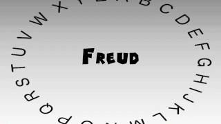 Freud Pronounce