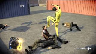 Sleeping Dogs - Bruce Lee's 'Game of Death' outfit