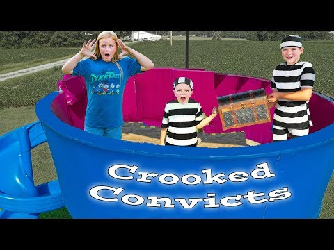 Assistant At The Paw Patrol Lookout Stops The Crooked Convicts Ryan And Smalls