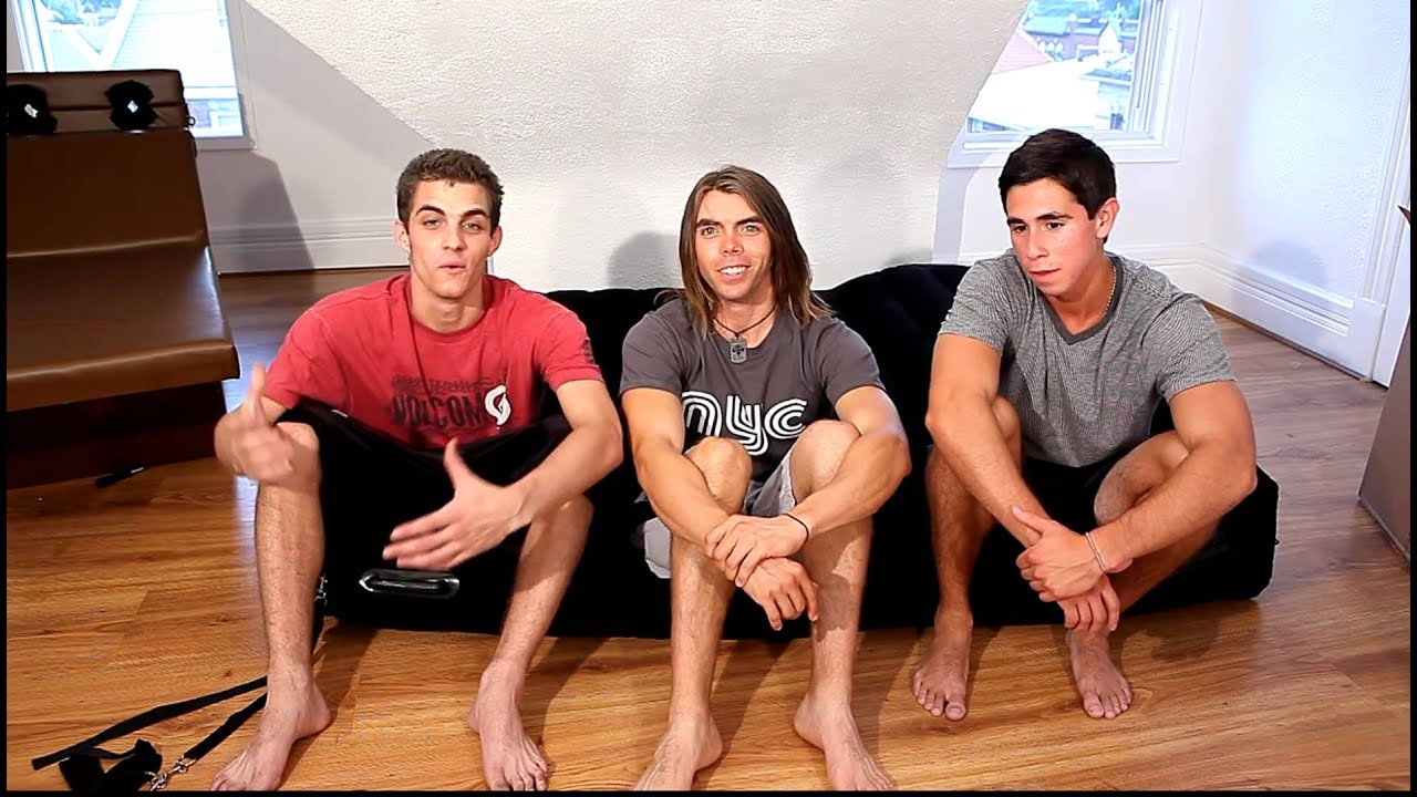 Three Male Models Talk About Tickling - YouTube
