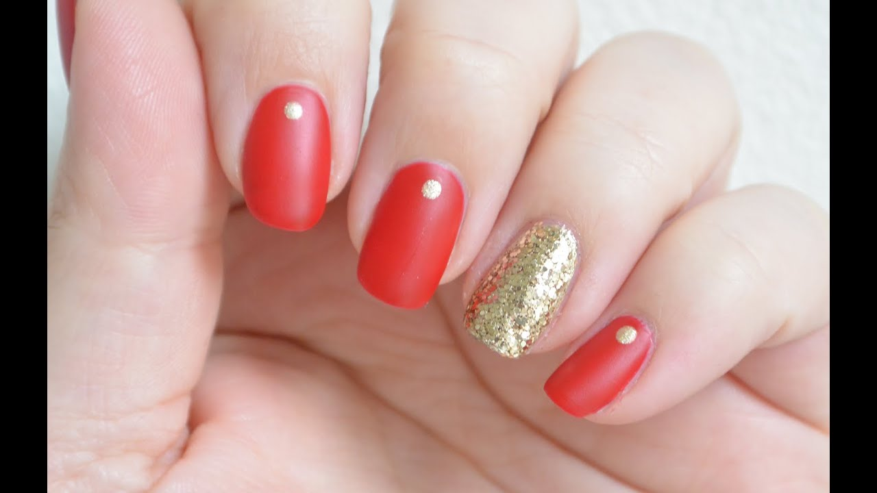 Prom Nails - Prom Week, day 3 | Very Simple Elegant Matte Nails ...