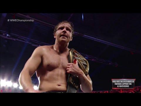 Dean Ambrose sigue siendo el campeón de la WWE