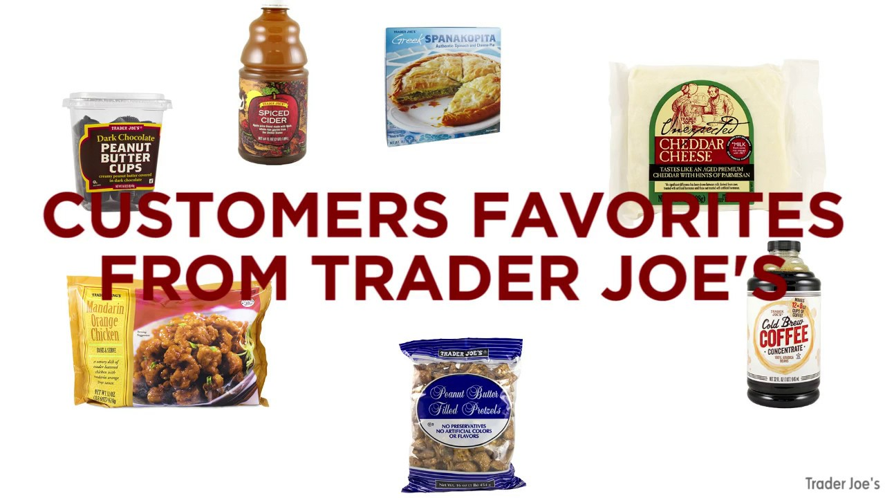Trader Joe\'s shares customers\' favorite products - YouTube