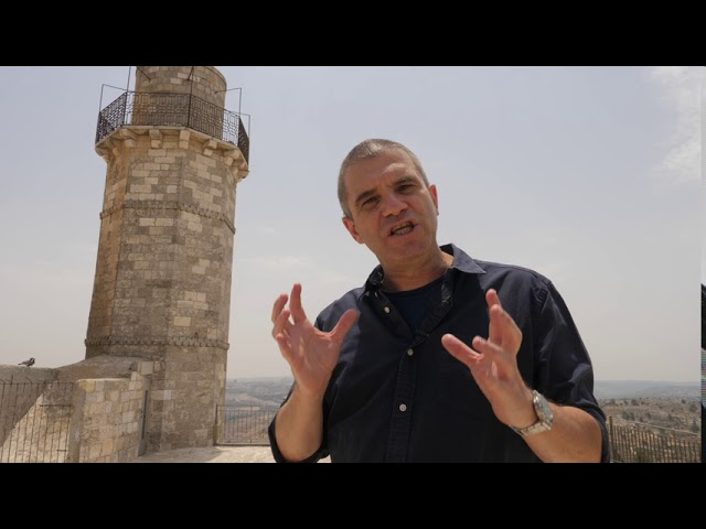 Brigadier- General (Res.) Gal Hirsch - Tour to Prophet Samuel's Tomb- Episode 6