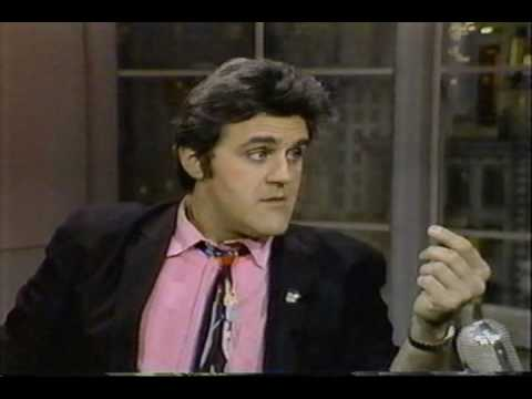 Jay Leno and David Letterman 1985