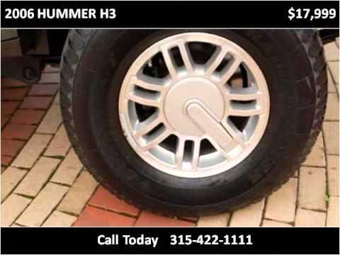 2006 HUMMER H3 Used Cars Syracuse NY - YouTube