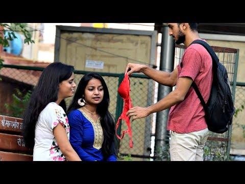 Pulling Bra From Hair Prank | AVRprankTV | Pranks in India