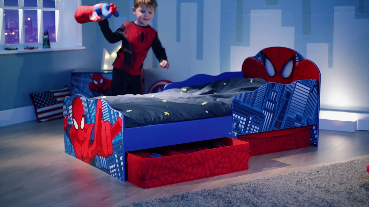 Spider-Man Toddler Bed by HelloHome (untagged) - YouTube