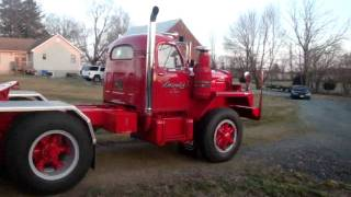 mack b 81 tandem tractor for sale