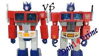 Transform Element TE-01 OP Leader vs Magic Square MS-01 Light of Freedom Optimus Prime Comparison