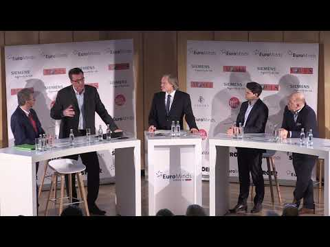 """EuroMinds 01.02.2020, 2. Panel """"Mobilitätskonzepte Für Großstädte"""""""