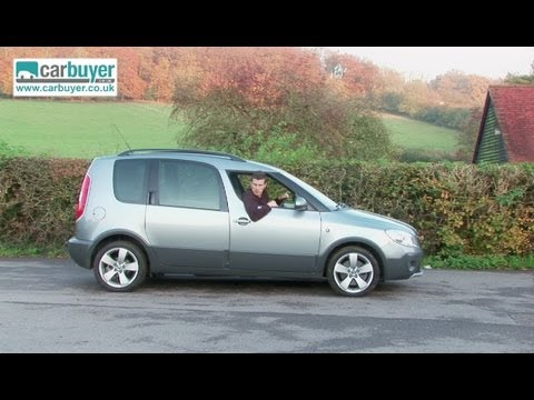 skoda roomster mpv review carbuyer youtube. Black Bedroom Furniture Sets. Home Design Ideas