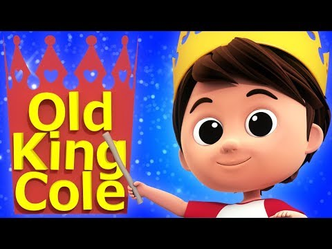 Old King Cole | Nursery Rhymes | Baby Songs | Videos For Children