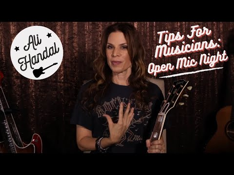 Open Mic Night: Tips For Musicians