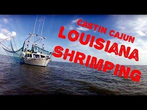 Louisiana Shrimping on Castin' Cajun