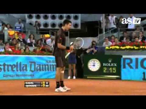 Rafael Nadal vs Novak Djokovic Final - Mutua Madrid Open 2011