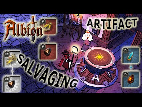 Millions In Passive Income?! - Artifact Salvaging | Albion Tips And Tricks