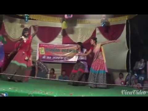 Tharu dance chat ke upar Saptary rajbiraj  Manish chaudhary