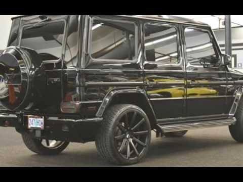 2015 mercedes benz g550 black wpiano black trim only 6k oregon miles for sale in milwaukie or