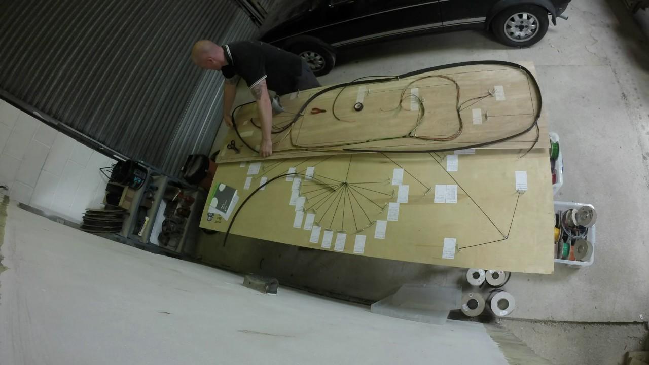 Hand Made Mk1 Escort Classic Rally Wiring Loom
